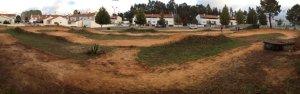 Pista de Estarreja, antes da reconstrução.