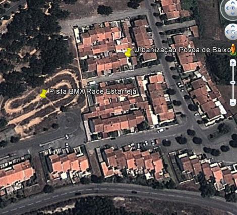 Foto de satélite do Google Earth