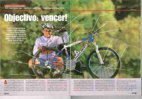 Revista Bike Magazine, nº66 Setembro de 2002.