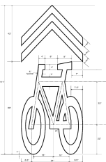 sharrow grafico
