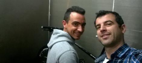 Pedro Silva e Tiago Rodrigues, a dupla do TEAM PROJETOPEDAL.com