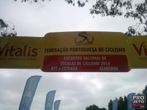 Encontro nacional de escolas de ciclismo almeirim 2014