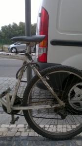 bicicleta de trabalho mobilidade urbana cangalho