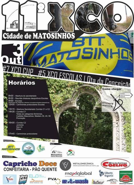 cartaz 11 xco cidade de matosinhos quinta da conceicao 2015