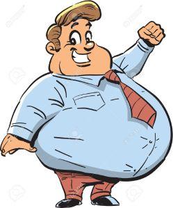 o gordo do escritorio