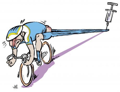 """O doping ilude, mas não te leva a lado nenhum senão à vergonha. CUIDADO porque o DOPING aparece sempre pela mão de um """"bom"""" amigo, como se alguém que propões o doping fosse amigo de alguém!!"""
