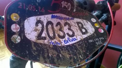 dorsal B150 Ultra maratona Bairrada 150
