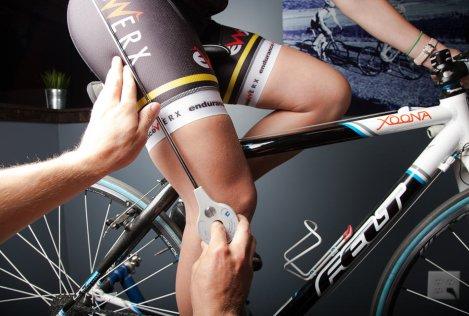 Bikefit com utilização de Goniometro