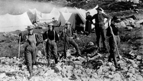 mineiros gold rush